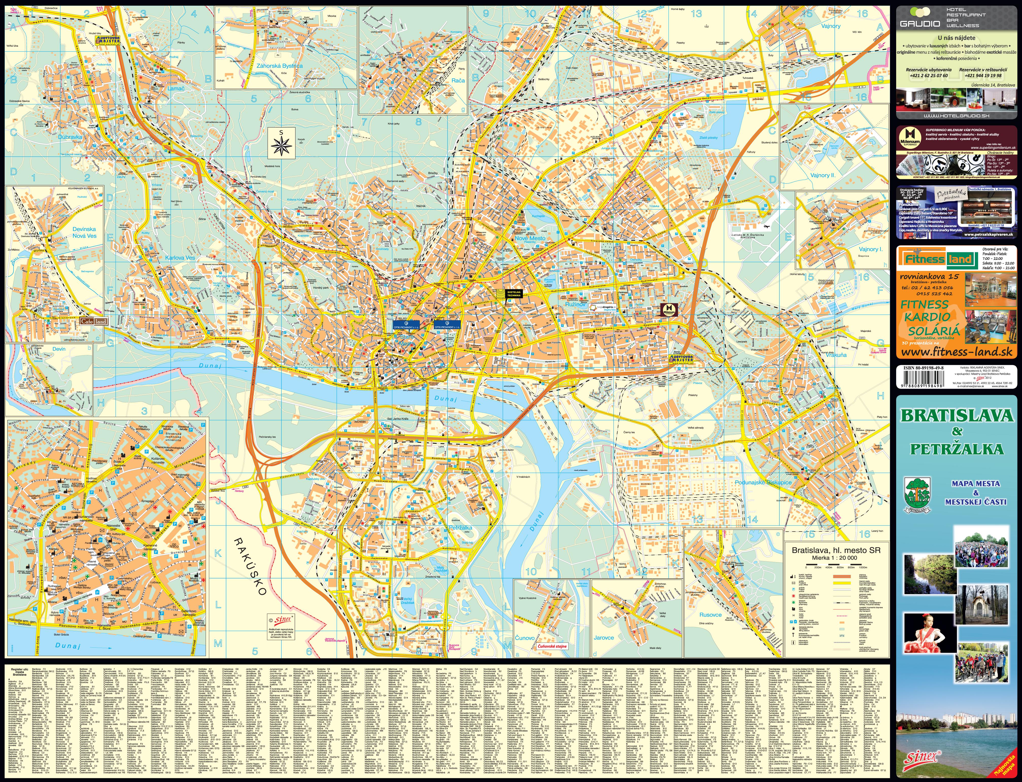 bratislava mapa Mapy   Petržalka bratislava mapa