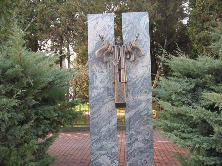 Socha Ježiša Krista na Daliborovo námestí