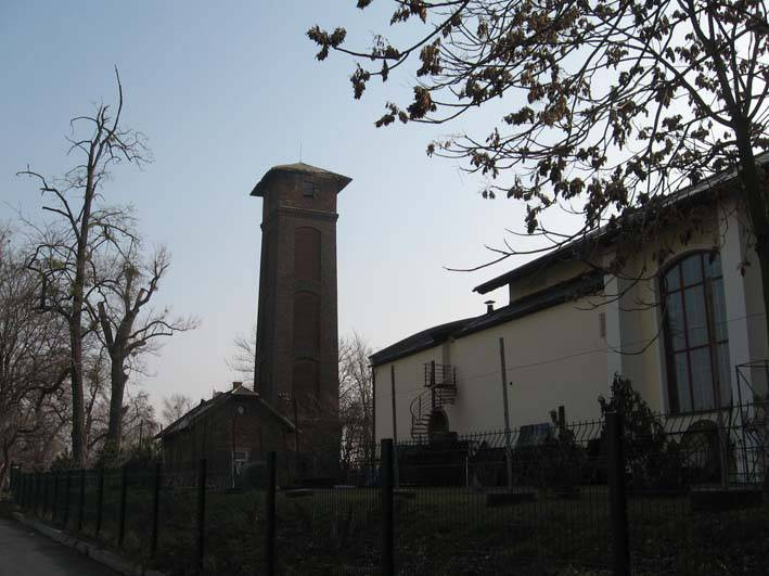 Aréna - vodná veža