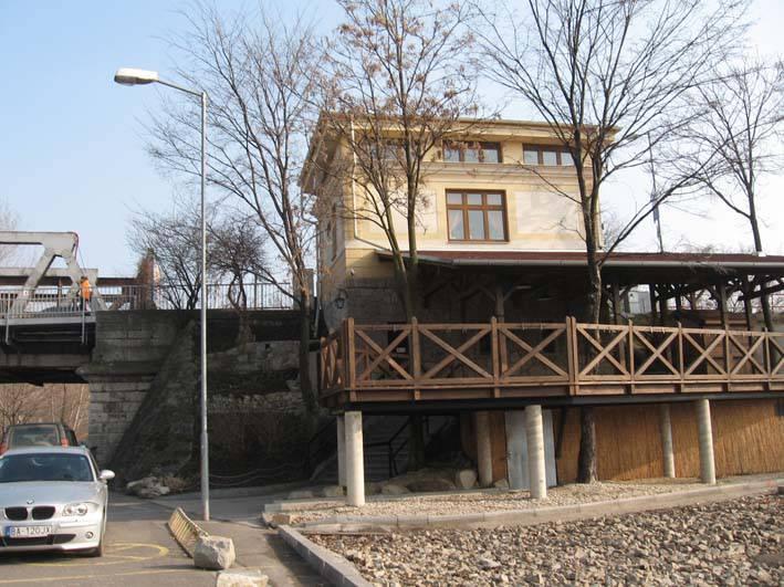 Mýtny domček - bývalá colnica, koniec 19. storočia