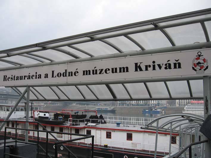 Lodné múzeum, loď Kriváň