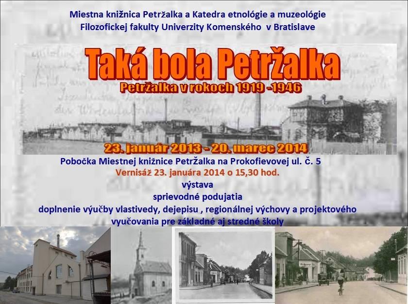 Taka bola Petrzalka v rokoch 1919 - 1945