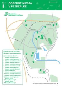 Mapa a zoznam stálych odberných miest